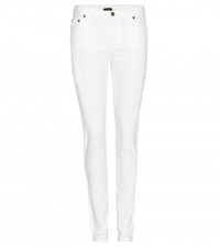 Mcq By Alexander Mcqueen Skinny Jeans White