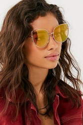 Urban Outfitters Lux Oversized Cat Eye Sunglasses Rose