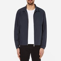 Folk Men's Nylon Box Jacket Blue