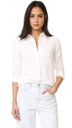 Baldwin Denim Mila Classic Shirt White