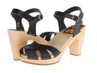 Swedish Hasbeens Suzanne Black High Heels