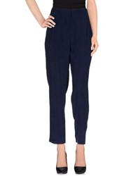 Equipment Femme Trousers Casual Trousers Women Dark Blue