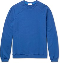 John Elliott Loopback Cotton Jersey Sweatshirt Royal Blue