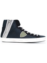 Philippe Model 'Bike' Hi Tops Blue