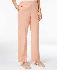 Alfred Dunner Just Peachy Pull On Pants