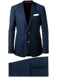 Hugo Boss Two Piece Suit Blue