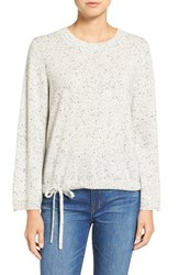 Madewell Women's Flare Sleeve Crop Cashmere Sweater