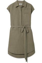Co Woven Tunic Army Green