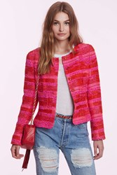 Nasty Gal Vintage Chanel Leonela Checkered Blazer