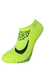 Nike Performance Elite Sports Socks Volt Black Neon Yellow