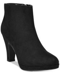 Rampage Baebi Platform Booties Women's Shoes
