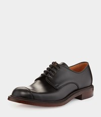 Vivienne Westwood Joseph Cheaney And Son Charlie Derby Lace Up Shoes Black