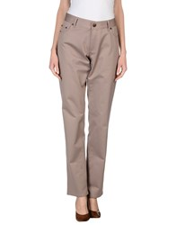 Byblos Trousers Casual Trousers Women Dove Grey