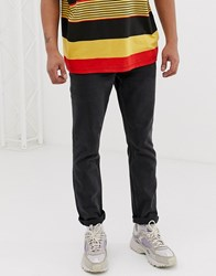 Cheap Monday Sonic Slim Fit Jeans In Horror Black