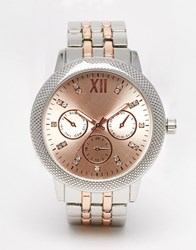 New Look Ombre Face Watch Nude