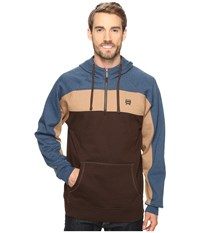 Cinch Raglan Hoodie W Color Blocking Multicolored Men's Sweatshirt