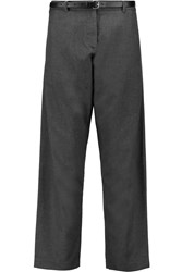 Opening Ceremony Graham Flannel Tapered Pants Gray