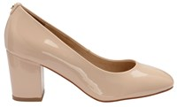 Ravel Weston Block Heeled Shoes Beige