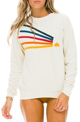 Aviator Nation Daydream Sweatshirt Vintage White
