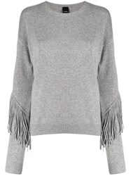 Pinko Fringed Trim Jumper 60