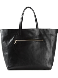 Etro Zipper Shopper Tote Black