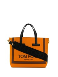 Tom Ford Logo Tote Bag Orange