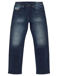 Diesel Buster 0853R Tapered Jeans Mid Wash