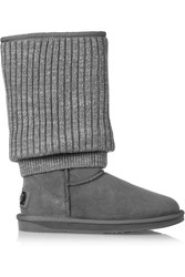 Australia Luxe Collective Fame Tall Shearling Boots Gray