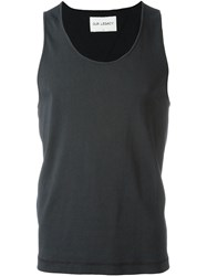 Our Legacy Scoop Neck Vest Blue