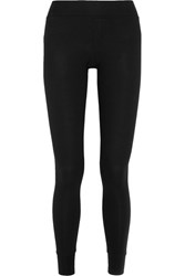 Atm Anthony Thomas Melillo Ribbed Stretch Micro Modal Leggings Black