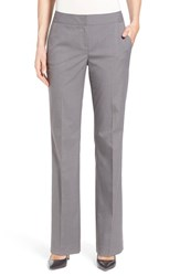 Women's Halogen 'Taylor Serene' Stretch Suit Pants Grey Pattern