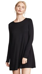 Riller And Fount Adelaide French Terry A Line Dress Black