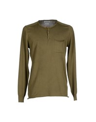 Esemplare Knitwear Jumpers Men Military Green