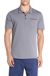 Hurley Men's 'Hype' Dri Fit Stripe Jersey Polo