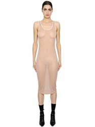 Givenchy Stretch Silk Sheer Jersey Dress