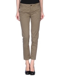 Manila Grace Casual Pants Military Green