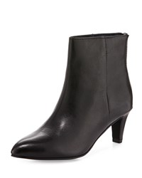 Seychelles Variable Leather Pointed Toe Bootie Black