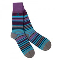 London Sock Company Soho Stripe Carnaby