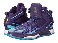Adidas Derrick Rose 6 Boost Purple Purple Shock Pink Men's Basketball Shoes