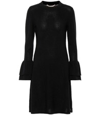 81 Hours Hada Wool And Cashmere Dress Black