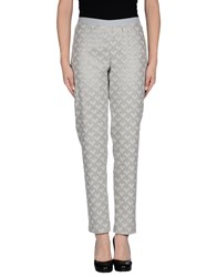 Alysi Trousers Casual Trousers Women Light Grey