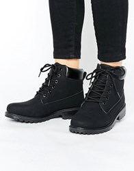 Park Lane Chunky Boot Black