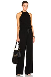 Nili Lotan Halter Jumpsuit In Black