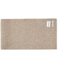 Norse Projects Wide Rib Scarf Green