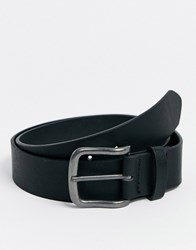 New Look Faux Leather Casual Belt In Black