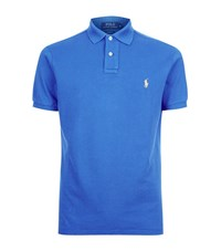 Polo Ralph Lauren Custom Fit Mesh Shirt Male Blue