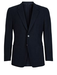 Aquascutum London Men's Horace Jacket Blue