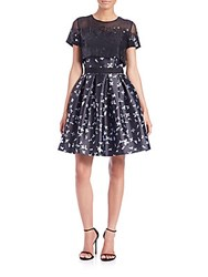Sachin Babi Mareo Sequined Popover Dress Jet