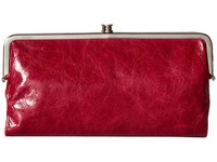Hobo Lauren Red Plum Clutch Handbags