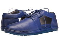 Marsell Side Cut Out Oxford Blue Women's Shoes
